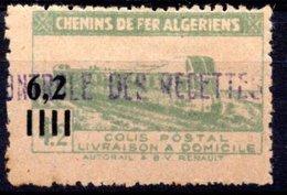 Algérie 1944-45 Colis Postaux N°135 Neuf Avec Charnière - Colis Postaux