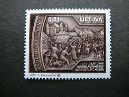 Fight For Independence # Lietuva Litauen Lituanie Litouwen Lithuania # 2019 MNH #Mi. 1307 - Litauen