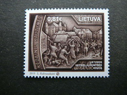 Fight For Independence # Lietuva Litauen Lituanie Litouwen Lithuania # 2019 MNH #Mi. 1307 - Lituanie