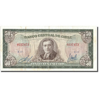Billet, Chile, 50 Escudos, KM:140b, TTB - Chili