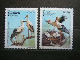 Europa. National Birds. Storks # Lietuva Litauen Lituanie Litouwen Lithuania # 2019 MNH #Mi. - Lituanie