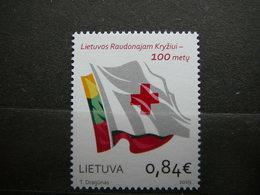 Red Cross # Lithuania Lietuva Litauen Lituanie Litouwen # 2019 MNH # - Litauen