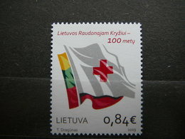 Red Cross # Lithuania Lietuva Litauen Lituanie Litouwen # 2019 MNH # - Lituania