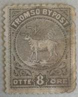 Francobollo Novegia - Tromso Bypost Otte Ore - Norway Local Stamp - Norvegia