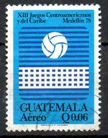 GUATEMALA. PA 647 Oblitéré De 1978. Volley-ball. - Voleibol