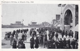 WASHINGTON'S BIRTHDAY AT ATLANTIC CITY. VIENNA DELICATESSEN CO. BROOKS & IDLER. CPA VOYAGEE YEAR 1942 - BLEUP - Atlantic City