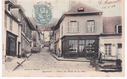 28 Eure Et Loir -  EPERNON -  Place Du Puits De La Ville - Boulangerie - Epicerie - 1904 - Epernon