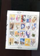 Belgie BL83 TYPE B 'snijblok Links' MNH Strips Comics BD TINTIN Kennedy Che Guevara Merckx Cycling Lenin Olympics Owens - Blocks & Sheetlets 1962-....
