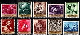 **1854/63 PINTOR FORTUNY (1968) - SERIE COMPLETA. NUEVA SIN CHARNELA. OFERTA POR LIQUIDACIÓN - 1931-Hoy: 2ª República - ... Juan Carlos I