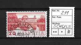 1938 BILDER DER VÖLKERBUNDS- UND ARBEITSAMTSGEBÄUDE → SBK-211 Rundstempel SCHULS - Suisse