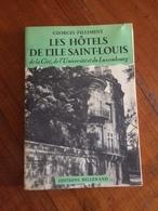 """Georges Pillement """" Les Hôtels De L'ile Saint-Louis   """" - Histoire"""