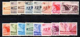 CI1215a - VENEZUELA 1956, Posta Aerea Serie Yvert N. 590/605  Usata. - Venezuela