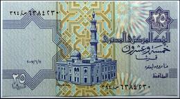 EGYPT  25 PIASTRES  2008 UNC - Egypt