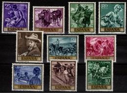 **1566/1575 PINTOR SOROLLA (1969) - SERIE COMPLETA.NUEVA SIN CHARNELA. OFERTA POR LIQUIDACIÓN - 1931-Hoy: 2ª República - ... Juan Carlos I
