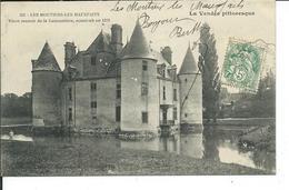 Les Moutiers-les-Maufaits-Vieux Manoir De La Cantaudière,construit En 1578 - Moutiers Les Mauxfaits