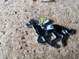 1  PINDS CHEVAL DE COURSE DE PLAT N4 - Pin's & Anstecknadeln