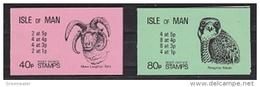 Isle Of Man 1982 Falcon / Ram 2 Booklets ** Mnh (42908) - Man (Eiland)