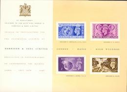 GB UK Michel Nr. 237-240 On Presentation Card 1948 Hm09-2 - Presentation Packs