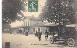 LE RAINCY - La Gare - Automobile - Le Raincy