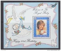 Isle Of Man 1982 Royal Baby / Lady Di M/s ** Mnh (42909) - Man (Eiland)