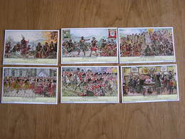 LIEBIG Les Clans Ecossais Histoire Ecosse Série De 6 Chromos Trading Cards Chromo - Liebig