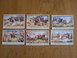 LIEBIG Généraux Belges Du XVI Au XVIII ème Siècle Histoire Belgique Série De 6 Chromos Trading Cards Chromo - Liebig