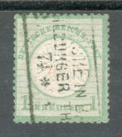 Germany Dt.Reich Michel Nr. 23 A Seltener O Carlsruhe M�hlburger Thor It07 - Germany