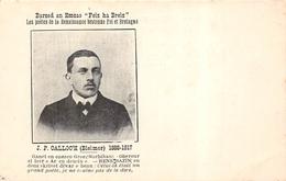 """ILE DE GROIX  -  J.P Calloc'h  Barzed An Emzao """" Feiz Ha Breiz """" Poetes De La Renaisance Bretonne  Foi Et Bretagne - Groix"""