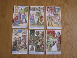 LIEBIG Le Masque à Travers Le Monde Histoire Série De 6 Chromos Trading Cards Chromo - Liebig