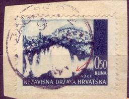 LANDSCAPES-JAJCE-0.50 K-ERROR -KNAPSACK-NDH-WWII-CROATIA - 1941 - Croatia