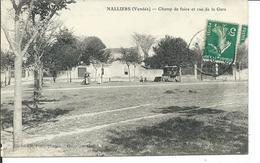 Nalliers- Champ De Foire Et Rue De La Gare - France