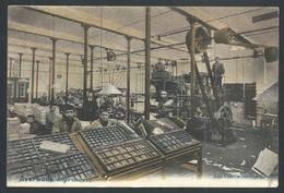 +++ CPA - AVERBODE - Imprimerie - Métier - Couleur 1908   // - Scherpenheuvel-Zichem