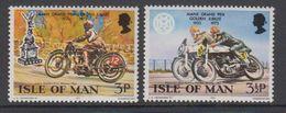 Isle Of Man 1973 Motorcycles Grand Prix 2v ** Mnh (42913A) - Man (Eiland)