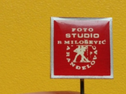 List 108 - FOTO STUDIO MILOSEVIC, ARANDJELOVAC, SERBIA, PHOTO, Photographie - Fotografie