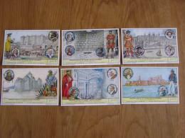 LIEBIG Prisons D'Etat Et Leurs Hotes Célébres Bastille Londres Venise Marseille Série De 6 Chromos Trading Cards Chromo - Liebig