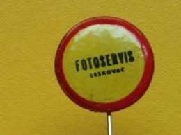List 108 - FOTO SERVICE, SERVIS, LESKOVAC, SERBIA , PHOTO, Photographie - Photography