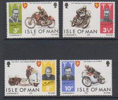 Isle Of Man 1974 Motorcycles / TT Races 4v ** Mnh (42913B) - Man (Eiland)