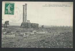 Ruines Romaines De Timgad - Colonnes Du Pronaos Du Capitole -  Mbf91 - Autres