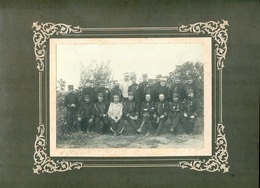 PHOTO D'OFFICIERS D'ETAT-MAJOR GENERAL D'AMADE - Guerre, Militaire