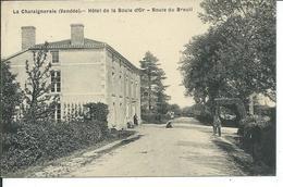 La Chataigneraie-hotel De La Boule D'Or-route Du Breuil - La Chataigneraie