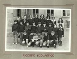 """3980 """"RICORDO SCOLASTICO -IV-D -  LUOGO ED ANNO IMPRECISATI"""" FOTO ORIGINALE - Persone Identificate"""