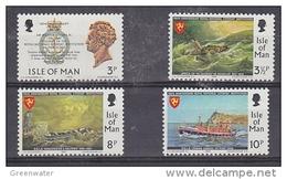 Isle Of Man 1974 RNI Lifeboat 4v ** Mnh (42913C) - Man (Eiland)