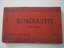 41 Romorantin, Carnet Complet De 20 Cartes (3351) - Romorantin