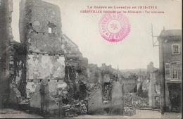 Gerbèviller Bombardé Par Les Allemands - Vue Intérieure - Gerbeviller