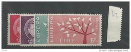 1962 MNH Ireland, Eire, Irland Year Collection, Postfris - Irlanda