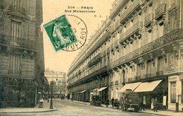 75  PARIS 17e AR    RUE MEISSONNIER (CPA LEGRT JAUNIE) - Arrondissement: 17