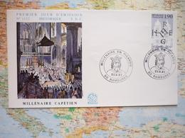 Millénaire En Picardie 21/07/1987 Rambures - Postmark Collection (Covers)