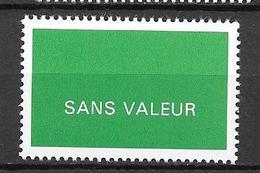FRANCE FICTIF N°F250**  Mnh   Sans Charnière - Fictifs