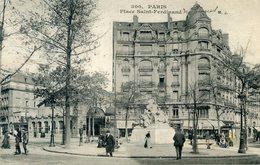 75  PARIS 17e AR   PLACE SAINT FERDINAND - Arrondissement: 17