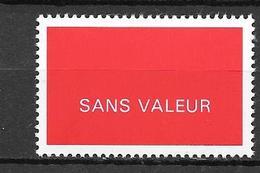 FRANCE FICTIF N°F251**  Mnh   Sans Charnière - Fictifs